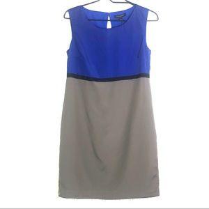 NWT Banana Republic Color Block Sleeveless Dress
